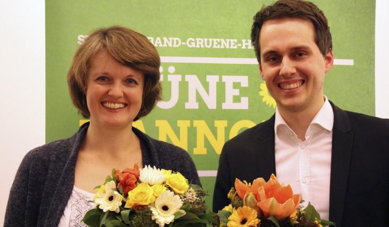 Swantje Michaelsen und Sven-Christian Kindler