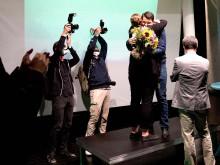 Henning Krause dankt Frauke Patzke