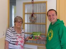 Eike Lengemann besucht Wählerinnen und Wähler