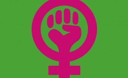 Grünes Frauenlogo